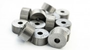 Knurling Wheel GE 45° MALE, diameter 20 mm, thickness 10 mm, bore 5 mm, hardness 64 Hrc, material HSS grade M2, without PVD coat