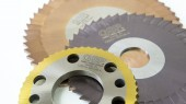 PVD Coating on Circular Cutters for Beveling and for Slitting