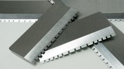 Industrial Shear Blades with Teeth