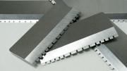 Industrial Shear Blades with Teeth