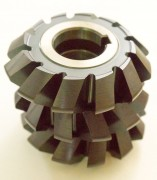 Double angle milling cutters, symmetrical