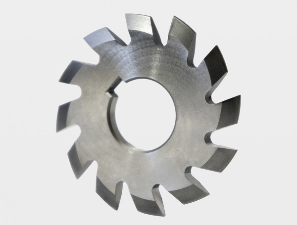 Involute gear cutters for spur wheels, pressure angle 20 degree Cobalt 5%