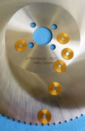 HSS CutOff Saw Blades Compared with Slitting Saw Blade 20x0,5x5 TiN-11