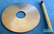 HSS Slitting Saw Blade 40x0,2x10 128A-6