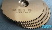 HSS Slitting Saw Blade 63x1,6x16 80A-3