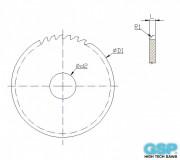 Concave Millling Cutters halfcircular