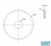 Convex Millling Cutters halfcircular