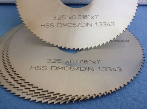 Slotting  Blades for Liners and Pipes